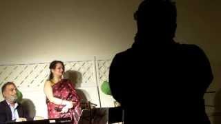 Usha Timothy ji singing Jab Jab bahar aaye. Azhar Hussain sahab on keys