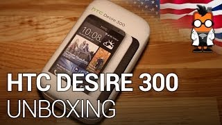 hTC Desire 300 budget smartphone unboxing, hands on & compared to Moto G ENG