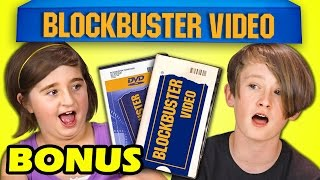 Video KIDS REACT TO BLOCKBUSTER VIDEO (BONUS #154) download MP3, 3GP, MP4, WEBM, AVI, FLV Desember 2017