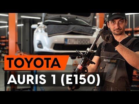 Как заменить стойку амортизатора передней подвески на TOYOTA AURIS 1 (E150) [TUTORIAL AUTODOC]