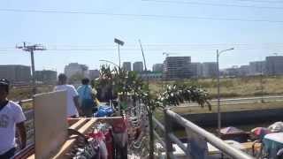 Baclaran From The Top Of  Footbridge