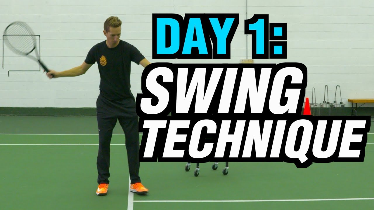 5 Days To A Killer Tennis Forehand - Day 1: Swing Technique