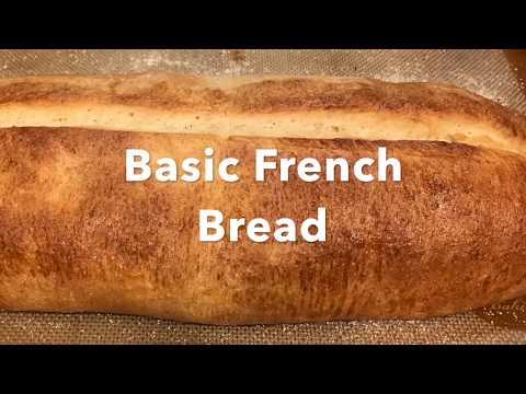 Basic Crusty French Loaf Bread