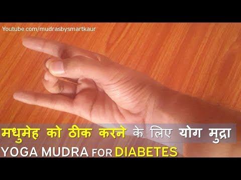 Mudras for Health: Yoga Mudra for Diabetes-Apan Mudra in hindi