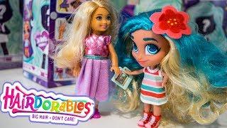 #КУКЛЫ С ПРИЧЕСКАМИ HAIRDORABLES SURPRISE DOLLS! Одевалки Dress Up Распаковка - Игры для Девочек