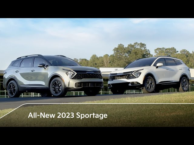 First Look | All-New 2023 Kia Sportage Crossover SUV Reveal