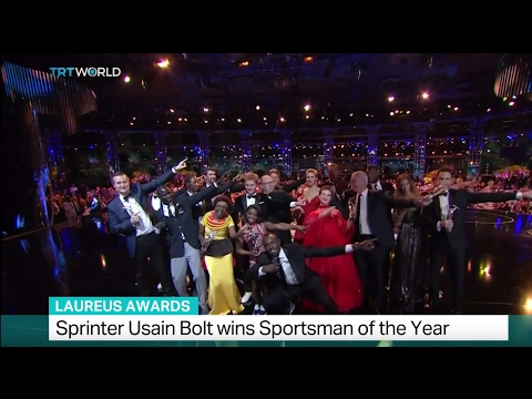 Laureus Awards: Sprinter Usain Bolt wins the Sportsman of the Year