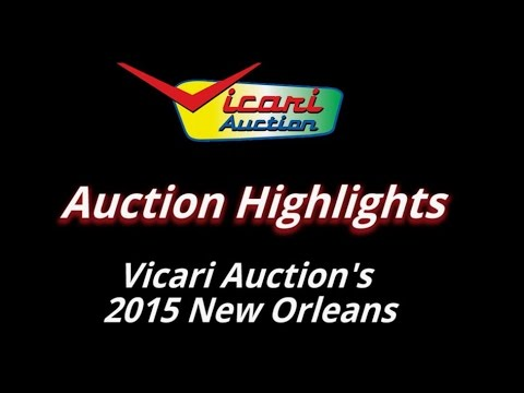 New Orleans 2015 Vicari Car Auction Highlights Video