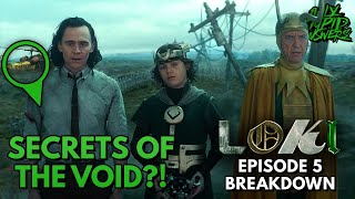 The Mysteries of LOKI's Void Explained?! | Disney+ | Episode 5 Review + Breakdown