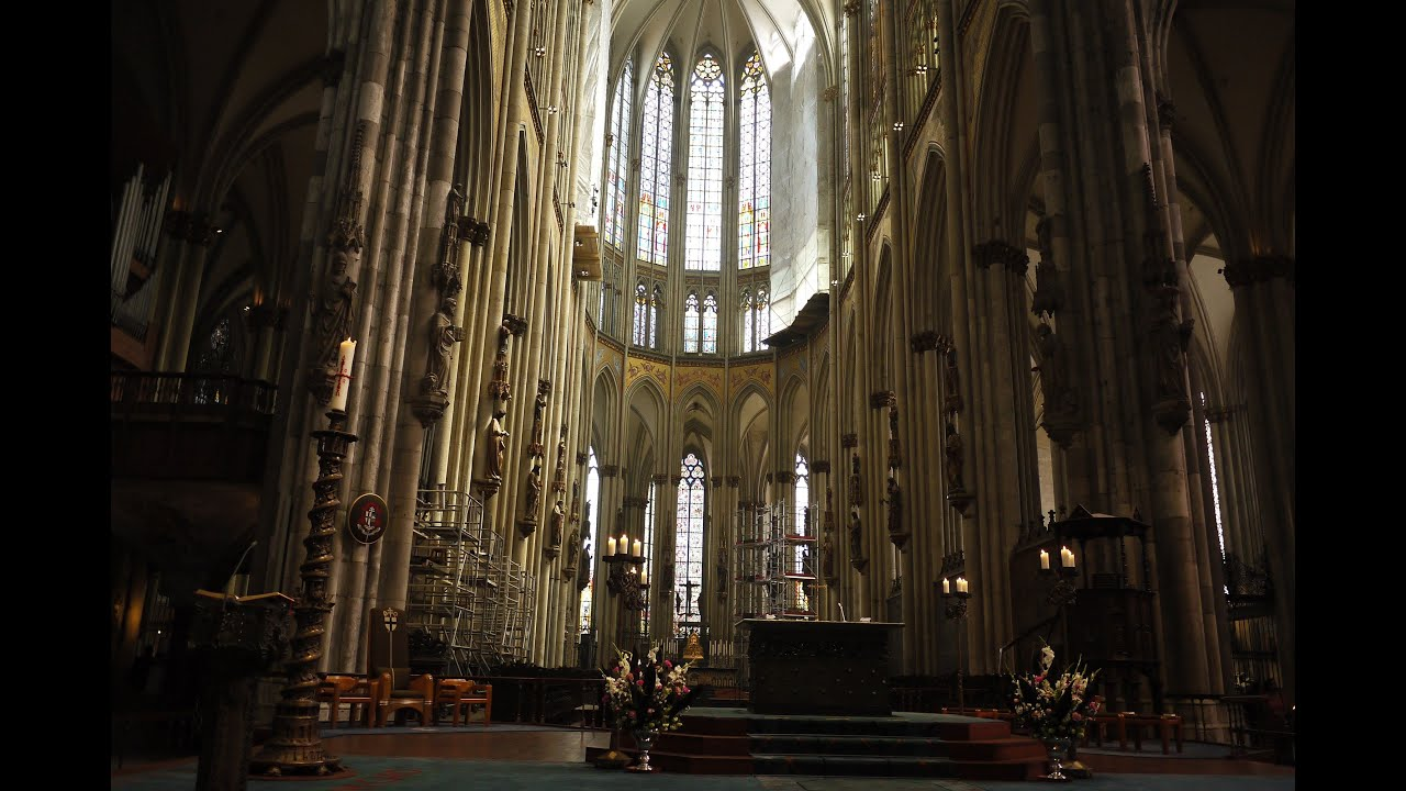 Cologne Cathedral Interior Tour
