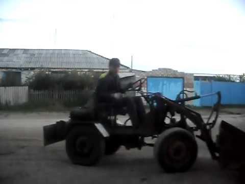 Минитрактор 4 4 видео