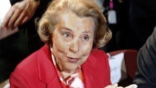 La milliardaire française Liliane Bettencourt est morte