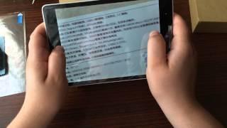 Посылка из Китая Xiaomi Mi Pad - планшет Сяоми БОМБА обзор,характеристики, мнение, тесты(, 2014-08-04T05:30:01.000Z)