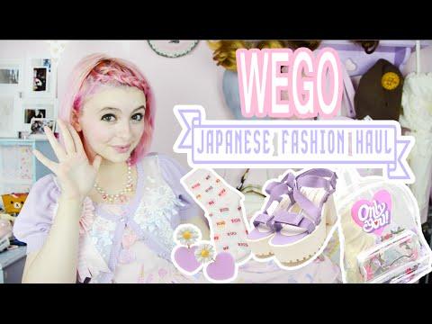 WEGO Japanese Fashion Haul & Unboxing!