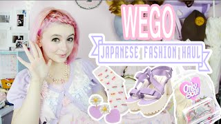 WEGO Japanese Fashion Haul & Unboxing!