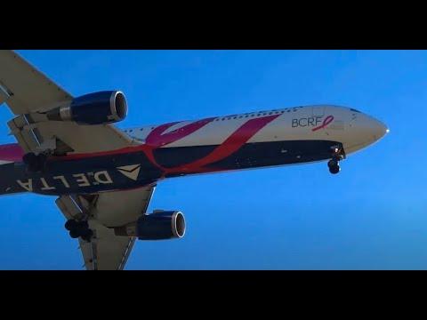(HD) Atlanta Airport Arrivals Awesomeness - Plane Spotting Hartsfield Jackson International Airport