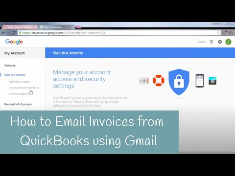 How To Email Invoices From QuickBooks Using Gmail  Email Invoices