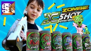 Обзор и распаковка бластера ZOMBIE X-shot Blaster // ЗОМБИ АПОКАЛИПСИС #Нерф Война #ЗОМБИ