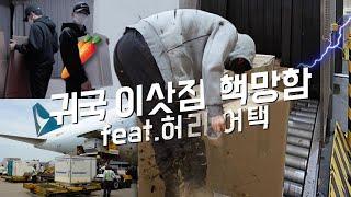 [귀국 이삿짐 vlog] 항공사 폐업으로 홍콩 생활 정…