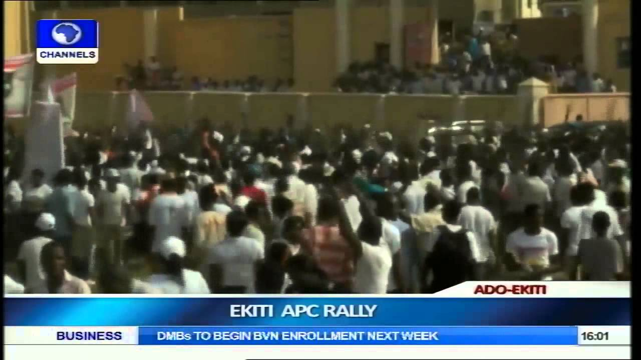 Ekiti APC Rally:  Labour Leadership Applauds Fayemi's Welfare Package Part 1