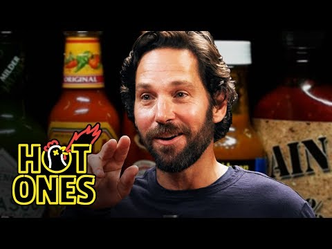 image for Paul Rudd takes on the Wings of Death on Hot Ones