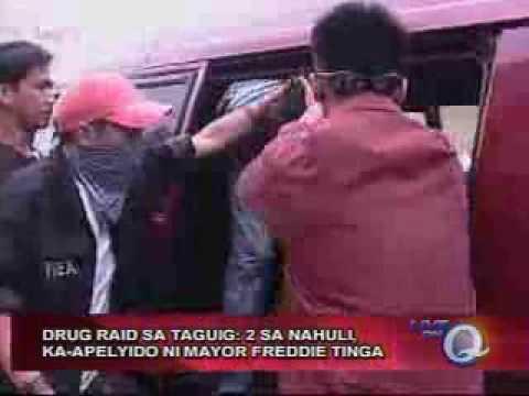 Raid sa ususan taguig GMA NEWS.TV