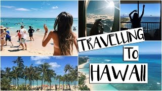 Travelling to Hawaii // Hawaii Vlog 1