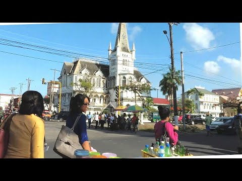 A Walk around Georgetown City Guyana
