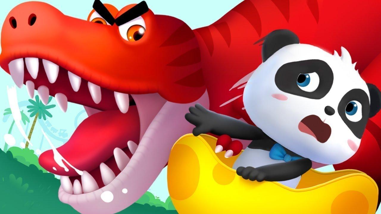 Parque de Atracciones de Dino | Canciones Infantiles | Video Para Niños | BabyBus Español