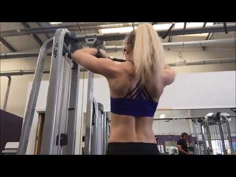 Emma Paveley IFBB Pro Shoulder Workout - 4 Week out Fitness Olympia