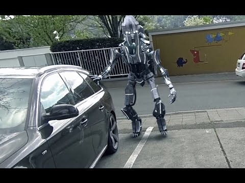 ULTIMATE BLENDER ROBOT VFX VIDEO