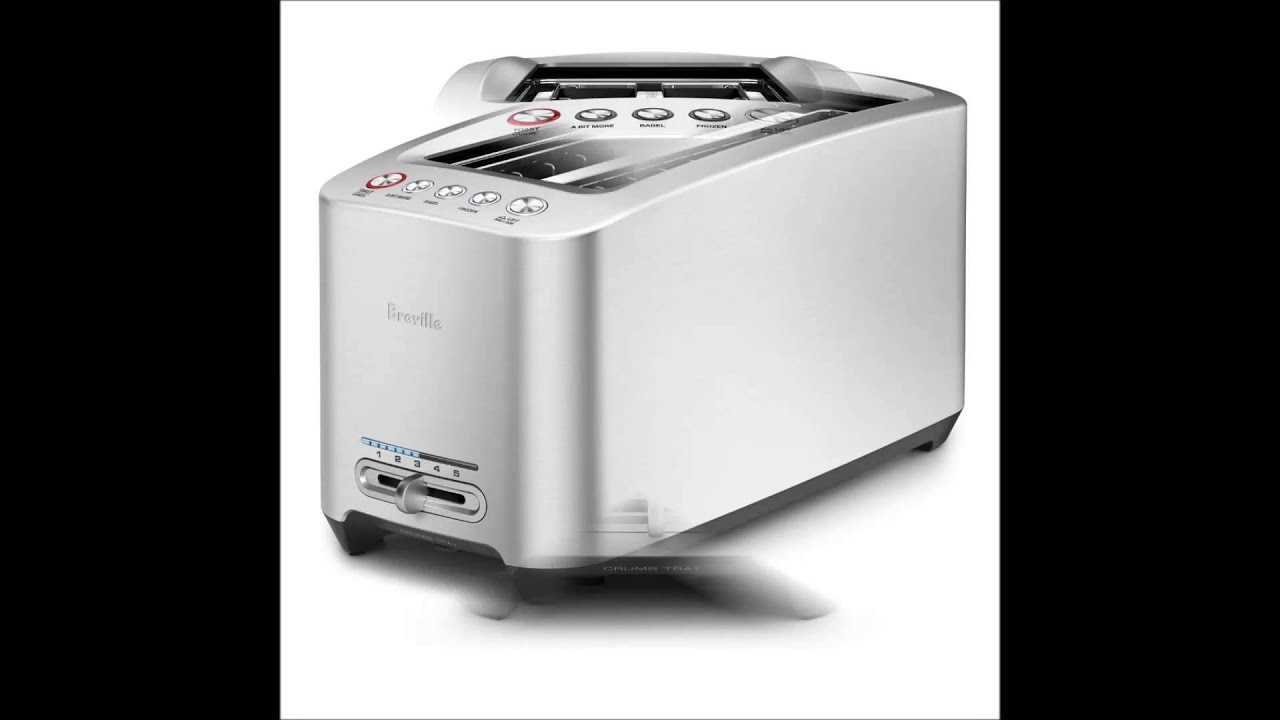 Breville BTA830XL Die Cast 4 Slice Long Slot Smart Toaster