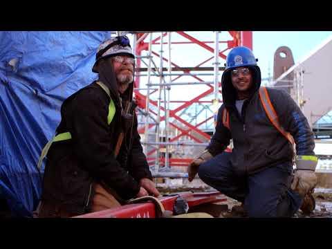 Ironworkers - Hanging Iron