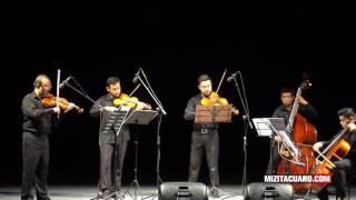 Se presentó el Quinteto de Cuerdas Orpheus en el Teatro Juárez de Zitácuaro
