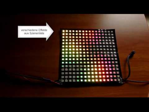 LED-Matrix 16x16 - SEDU Lights - Jinx! Software