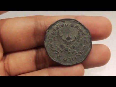 L2S เหรียญกษาปณ์หายากมาก 5 บาท 9 เหลี่ยม 2505 สภาพเก่าจัง เพราะมันปลอมจนเนียนเลย Fake coin