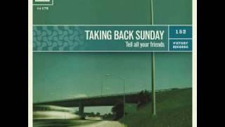 Cute Without The E - Taking Back Sunday  (lyrics)