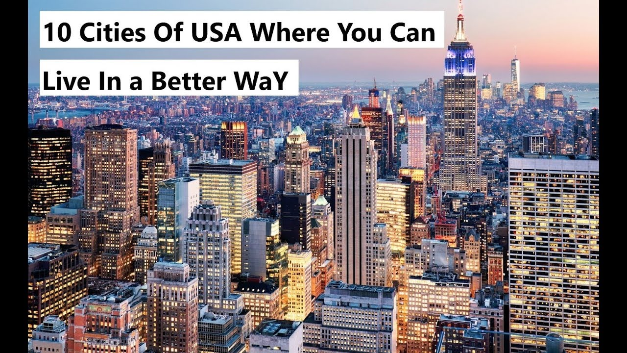 Best city for living and dating usa