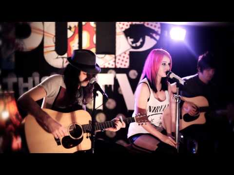 The Dirty Youth - Live Acoustic Session For Pulp TV -  'Crying Out For You & Fight'