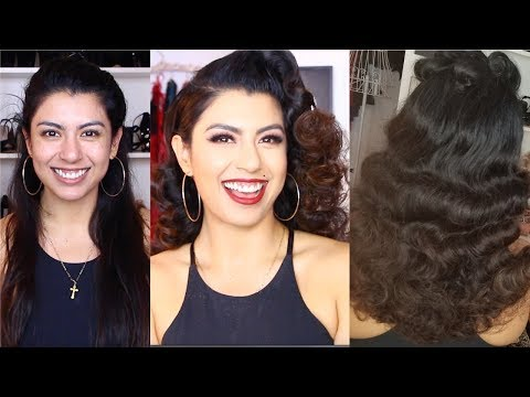 TRANSFORMING BODY BY GIA INTO A PINUP | VINTAGE MAKEOVER!