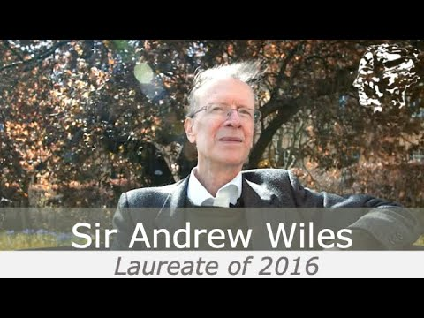 Sir Andrew Wiles - The 2016 Abel Prize Laureate