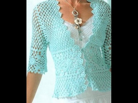 crochet cardigan| free |crochet patterns|407 - YouTube