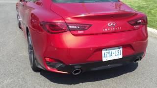 2017 q60 coupe stock exhaust sound