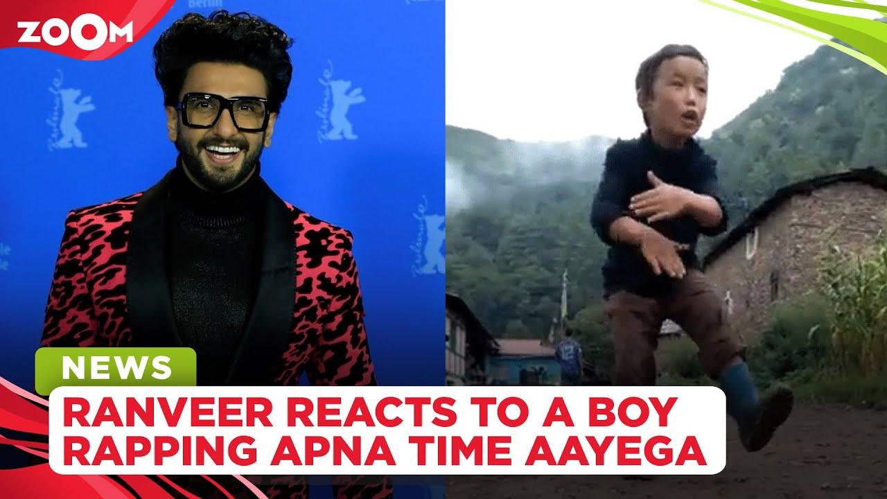 Ranveer Singh reacts to Arunachal boy rapping Apna Time Aayega, calls him 'My spirit animal'