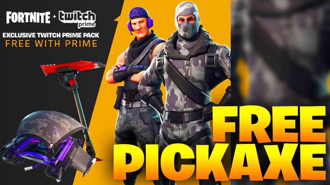 how to get free stuff from twitch prime on fortnite