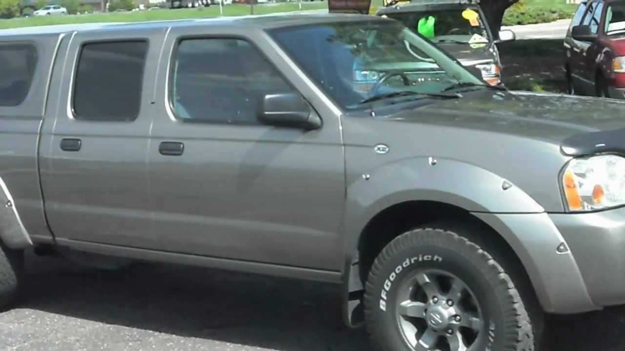 Nissan Frontier Crew Cab >> 2004 NISSAN Frontier XE Crew cab 4x4 V6 - YouTube