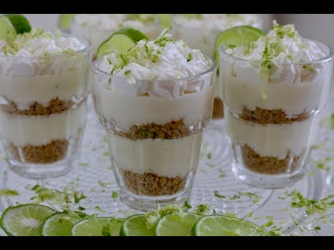 Key Lime Pie Shooters!   Baking With Josh & Ange