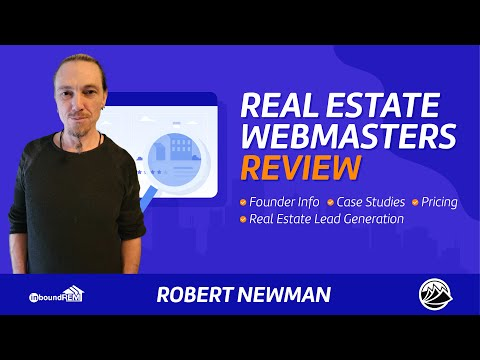Real Estate Webmasters Review | Pricing | Case Studies | Founder Info | Real Estate Lead Generation