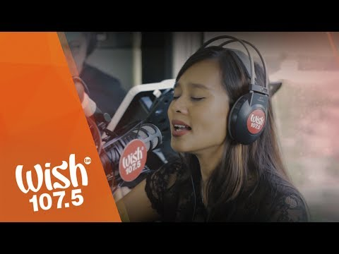 Kitchie Nadal performs  Wandering Stars  LIVE on Wish 107.5 Bus